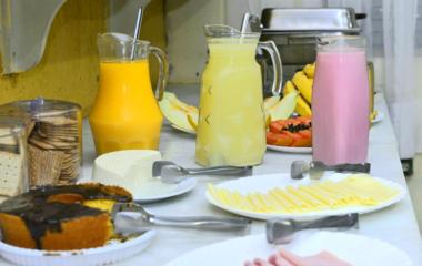 Acomodações - Café da manhã